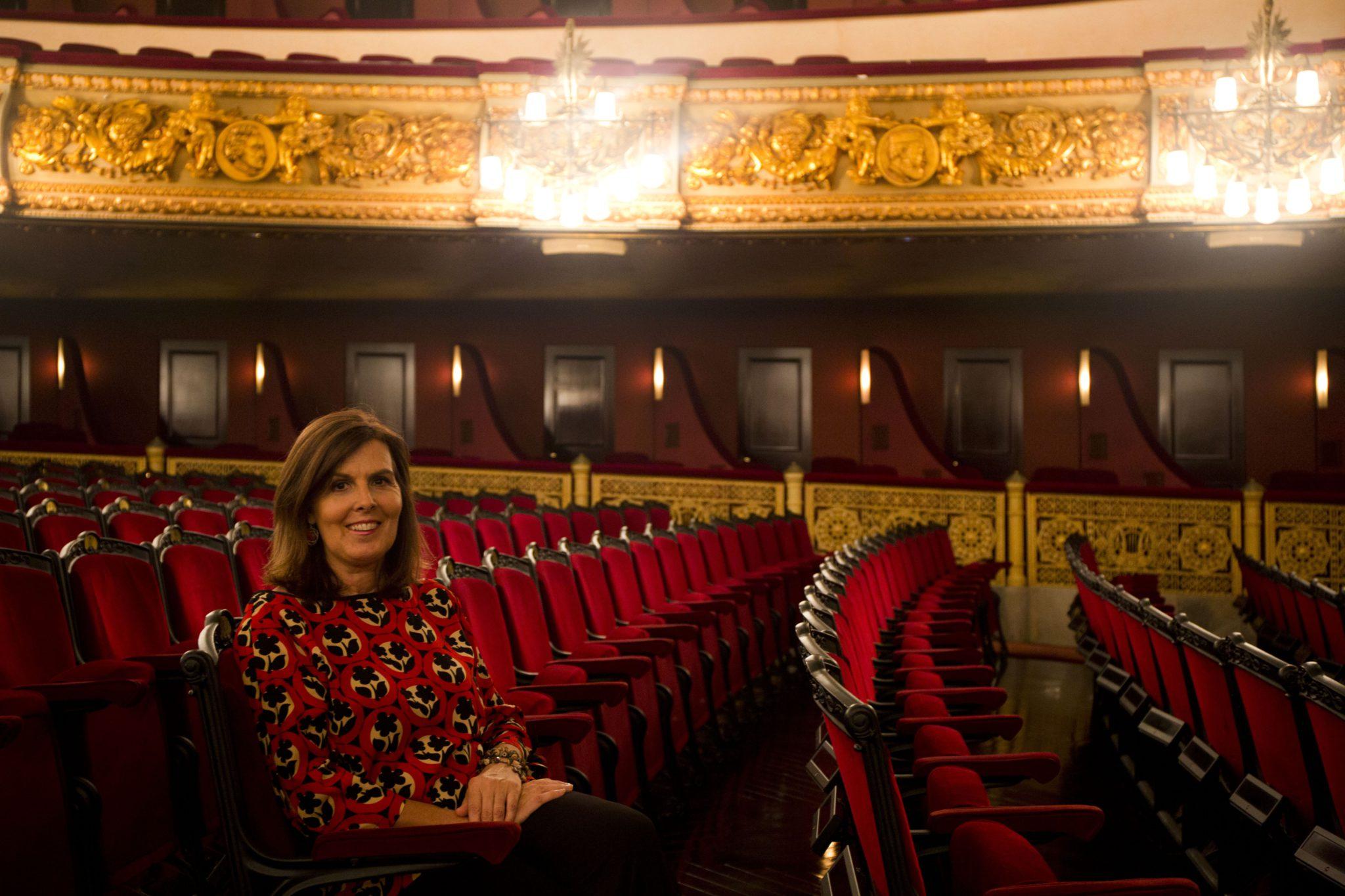 Pasión por la Ópera Rosa Maria Carbonell Liceu platea